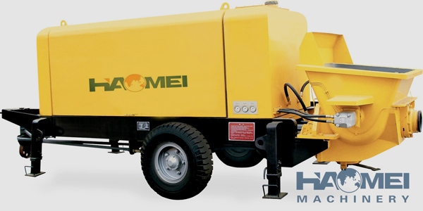 HBT90 Ultra-high Pressure Trailer Concrete Pump