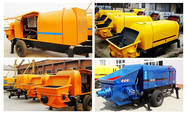 50m³/h Cement Pump Machine