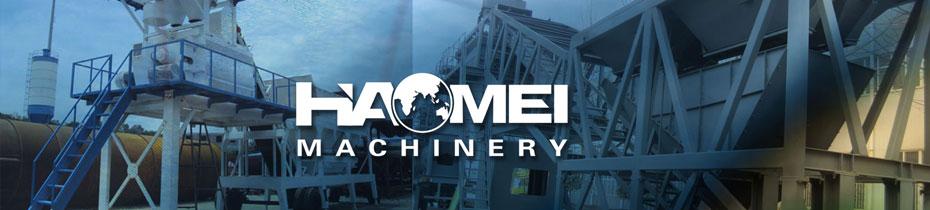 Concrete batching plant series haomei concrete plant